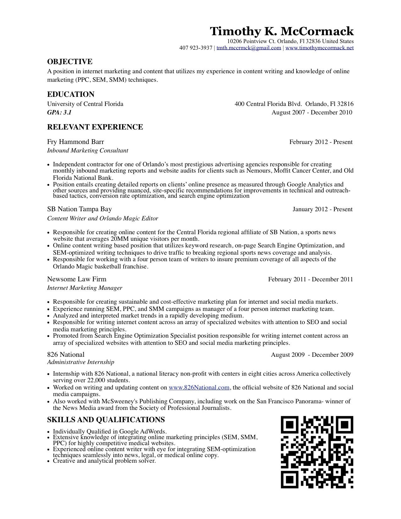 how to make resume shorter